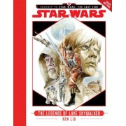 Journey to Star Wars: The Last Jedi: The Legends of Luke Skywalker, Hardcover