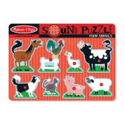 8 Piece Farm Animals Sound Puzzle by Melissa & Doug