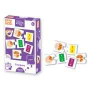 Puzzle matematic Fractii Learning Kitds, 40 piese
