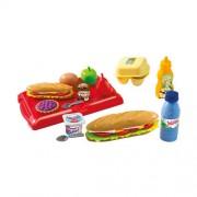 Set Ecoiffier Cutie de sandwich cu tava