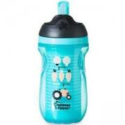 Детска неразливаща се термо чаша със сламка, 260мл., 2 налични цвята, Tommee Tippee, 263115