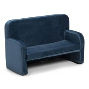 Alice & Fox Velvet Sofa, Blau