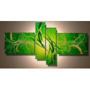 EVA JEKINS Tableau Zen & Design vert