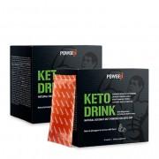PowGen Keto Drink 2x: pro rychlejší stav ketózy, lepší kognitivní funkce a více energie. Obsahuje 2x 10 sáčků (15g) na 20 dní.