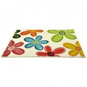 Covor Decorino, Floral, polipropilena, C-030403, 67x120 cm, Multicolor