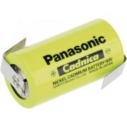 Acumulator NiCd cu urechi pentru lipire, C, 1,2 V, 3000 mAh, Panasonic