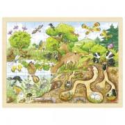 Natura - puzzle duże