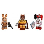 LEGO Lego March Harriet Harley Quinn and Wolverine Batman Minifigures Lego Batman Movie