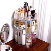 Sminkkészlet és kozmetikai tároló-forgatható