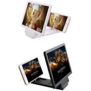 Buy 1 Get 1 Free 3D Folding Mobile Phone Screen HD Magnifier Stand