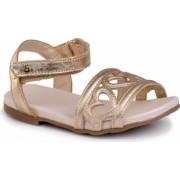 Sandale fetite BIBI Baby Birk Inimioare Aurii 24 EU