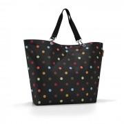reisenthel Einkaufstasche Shopper XL Bunt gepunktet Polyester