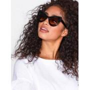 NLY Accessories Brille Sunglasses Solglasögon Brun