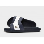 Lacoste Croco Slippers Dames - Blue - Dames