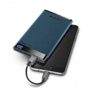 Външна тънка батерия Manta 6000 mAh (синя)