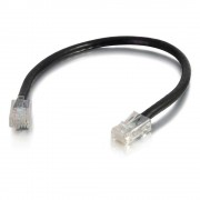 C2G 2m Cat5e Non-Booted Unshielded (UTP) Network Patch Cable - Black