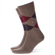 Burlington Edinburgh Men Socks Pebble