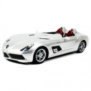 Officially Licensed Mercedes Benz SLR McLaren Z199 Electric RC Car 1:12 Color Silver
