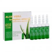 Eva Cosmetics Aloe Vera Complex Hair Care Ampoules 50 ml regenerační kúra v ampulích 5x10 ml pro ženy