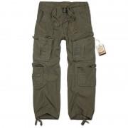 Brandit Pure Vintage Pantalones Verde Oliva S