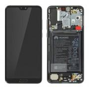 Huawei Repuesto Pantalla LCD/Táctil Negra para Huawei P20 Pro