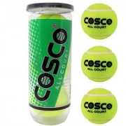 COSCO All Court Tennis Ball Set of 3 PC