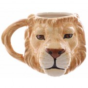 Merkloos Grote beker leeuw 400 ml