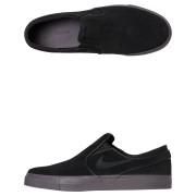Nike Sb Zoom Stefan Janoski Slip On Shoe Black
