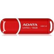 Stick USB A-DATA UV150 16GB, USB 3.0 (Rosu)