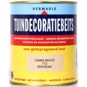 Tuindecoratiebeits 712 camel white 750 ml