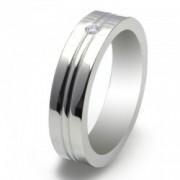 Inel magnetic cu zirconiu, otel inoxidabil VOX 53