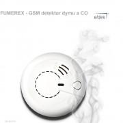 Eldes FUMEREX - GSM detektor dymu a CO