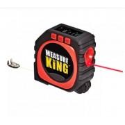 3 in 1 digitális okos mérőszalag lézeres,görgős,zsinóros - Measure King