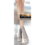 Fiore - Elegant patterned socks Sydney 20 denier