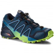 Pantofi SALOMON - Speedcross 4 Gtx GORE-TEX 404923 27 G0 Poseidon/Navy Blazer/Lime Green