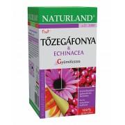 Naturland Gyümölcstea Tőzegáfonya-Echinacea 20 filter
