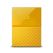 "Western Digital Disco Duro Externo WD My Passport 2.5"", 1TB, USB 3.0, Amarillo"