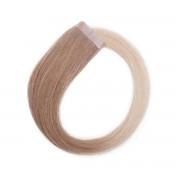Rapunzel® Extensions Naturali Quick & Easy Premium Liscio O7.3/10.8 Cendre Ash Blond Ombre 50 cm