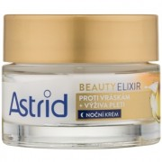 Astrid Beauty Elixir creme de noite nutritivo antirrugas 50 ml