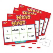 TREND Young Learner Bingo Game Sight Words Level 1 by TREND