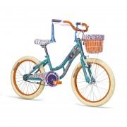 Bicicleta Mercurio Evergreen R16 Morado / Azul Naranja / Menta Rosa