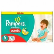 Pampers scutece chilotel Baby-Dry nr.5 12-18 kg 72 buc