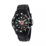 Crayo Shrine Unisex Watch w/ Magnified Date - Black CRACR3002