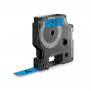 Etichete autocolante DYMO LabelManager D1 12mm x 7m negru albastru 45016 S0720560