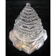 GLASS Shree Yantra (Crystal ) SHREE YANTRA VASTU ASTROLOGY SHREE YANTRA YAN