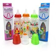 Combo Set of 3 Baby Feeding Bottle 250ml Print Feeding Bottle