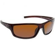 David Blake Brown Sport Polarised UV Protected Sunglass