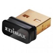Мрежови адаптер Edimax EW-7811Un, 150 Mbps, Wireless-N/G/B, nano USB адаптер