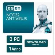 Eset NOD32 Antivirus 10 3 PC 1 Anno ESD