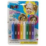 Hisab joker Färgkritor till ansiktet, 8-pack